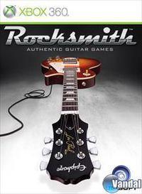 Portada oficial de Rocksmith para Xbox 360
