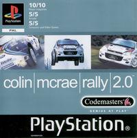 Portada oficial de Colin Mcrae Rally 2 para PS One