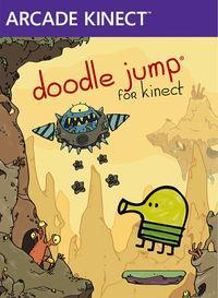 Portada oficial de Doodle Jump for Kinect XBLA para Xbox 360