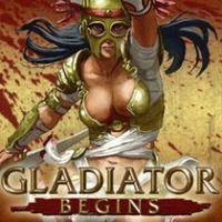 Portada oficial de Gladiator Begins para PSP