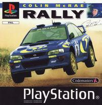 Portada oficial de Colin Mcrae Rally para PS One
