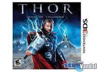 Portada oficial de Thor: Dios del Trueno para Nintendo 3DS