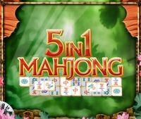 Portada oficial de 5 in 1 Mahjong DSiW para NDS