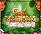 Portada oficial de de 5 in 1 Mahjong DSiW para NDS
