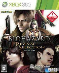 Portada oficial de Resident Evil: Revival Selection para Xbox 360