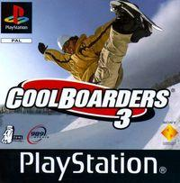 Portada oficial de Cool Boarders 3 para PS One