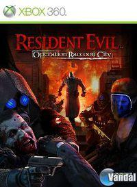 Portada oficial de Resident Evil: Operation Raccoon City para Xbox 360