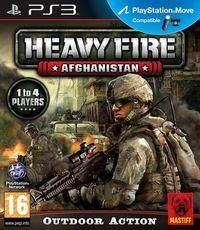 Portada oficial de Heavy Fire: Afghanistan para PS3
