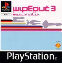 Portada oficial de Wip3out Special Edition para PS One