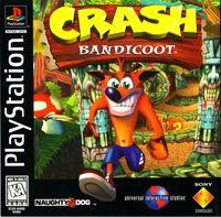 Portada oficial de Crash Bandicoot para PS One