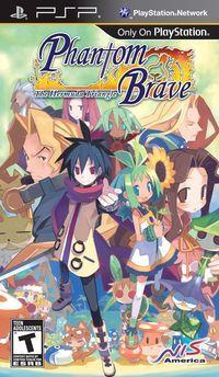 Portada oficial de Phantom Brave: The Hermuda Triangle para PSP