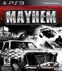 Portada oficial de Mayhem para PS3