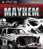 Portada oficial de de Mayhem para PS3