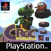 Portada oficial de Croc para PS One