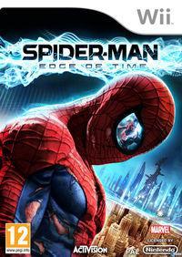 Portada oficial de Spider-Man: Edge of Time para Wii