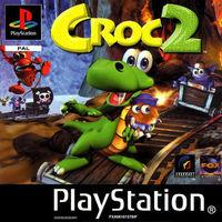 Portada oficial de Croc 2 para PS One