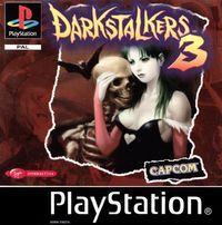 Portada oficial de DarkStalkers 3 para PS One