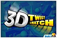 Portada oficial de 3D Twist & Match DSiW para NDS
