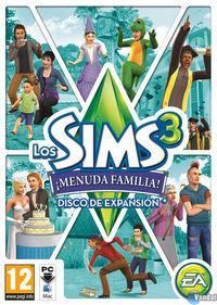 Portada oficial de Los Sims 3 ¡Menuda Familia! para PC
