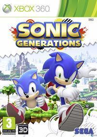 Portada oficial de Sonic Generations para Xbox 360