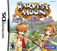 Portada oficial de Harvest Moon: The Tale of Two Towns para NDS