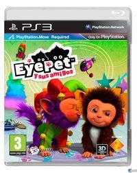 Portada oficial de EyePet y sus amigos para PS3