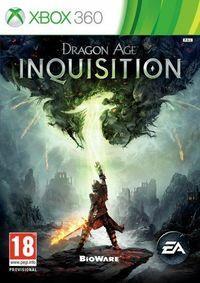 Portada oficial de Dragon Age Inquisition para Xbox 360
