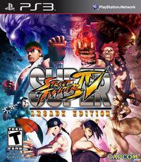 Portada oficial de Super Street Fighter IV: Arcade Edition para PS3