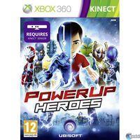 Portada oficial de PowerUp Heroes Kinect para Xbox 360