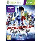 Portada oficial de de PowerUp Heroes Kinect para Xbox 360
