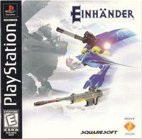 Portada oficial de Einhander para PS One