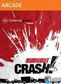 Portada oficial de Burnout Crash! XBLA para Xbox 360
