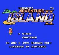 Portada oficial de Adventure Island II CV para Wii