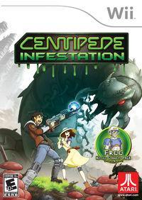 Portada oficial de Centipede: Infestation para Wii