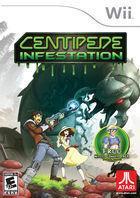 Portada oficial de de Centipede: Infestation para Wii