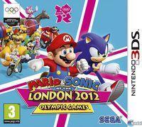 Portada oficial de Mario & Sonic en los Juegos Olímpicos London 2012 para Nintendo 3DS