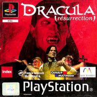Portada oficial de Dracula Resurrection para PS One