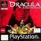 Portada oficial de de Dracula Resurrection para PS One