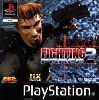 Portada oficial de Fighting Force 2 para PS One