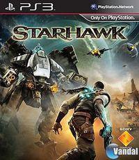 Portada oficial de Starhawk para PS3