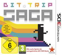 Portada oficial de Bit.Trip Saga para Nintendo 3DS