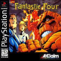 Portada oficial de Fantastic Four para PS One