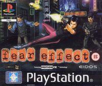 Portada oficial de Fear Effect para PS One