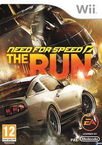 Portada oficial de Need for Speed: The Run  para Wii