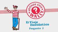 Portada oficial de ¿Dónde está Wally? Viaje Fantástico 3 WiiW para Wii