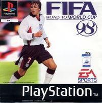 Portada oficial de FIFA 98 para PS One