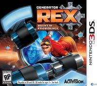 Portada oficial de Generator Rex: Agent of Providence para Nintendo 3DS