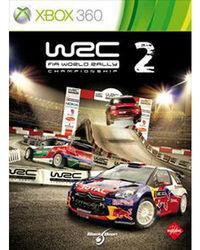 Portada oficial de WRC 2 para Xbox 360