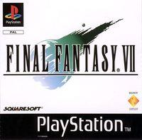 Portada oficial de Final Fantasy VII para PS One