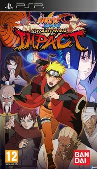 Portada oficial de Naruto Shippuden Ultimate Ninja Impact para PSP